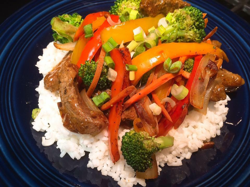 Easy Beef Broccoli Pepper Stir Fry