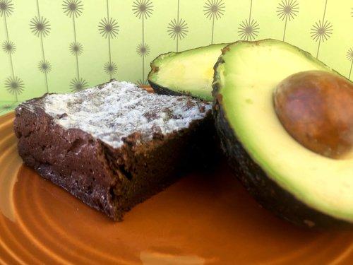Low Carb Keto Avocado Brownies