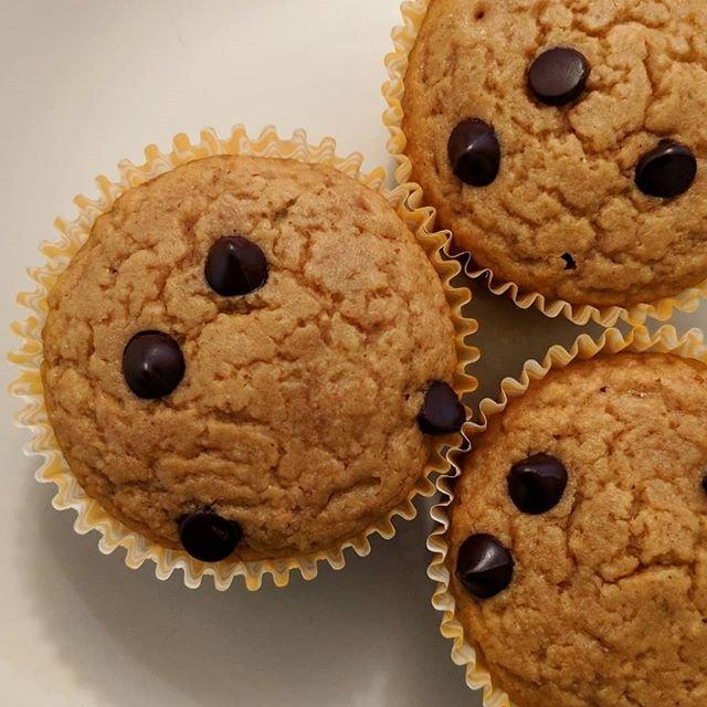 Peanut Butter Chocolate Chip Muffins!