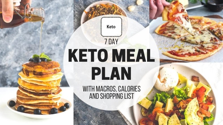 free keto diet meal plan