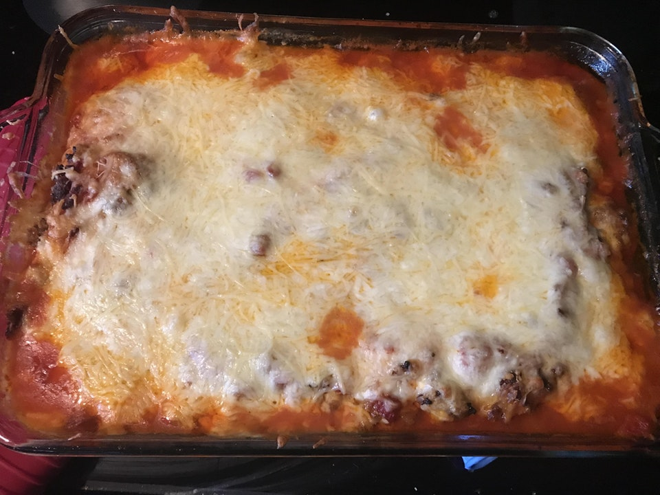 Keto Cheese Noodle Lasagna