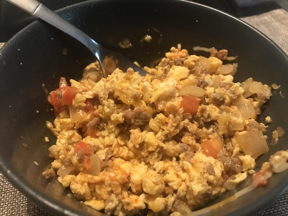 Breakfast taco bowl