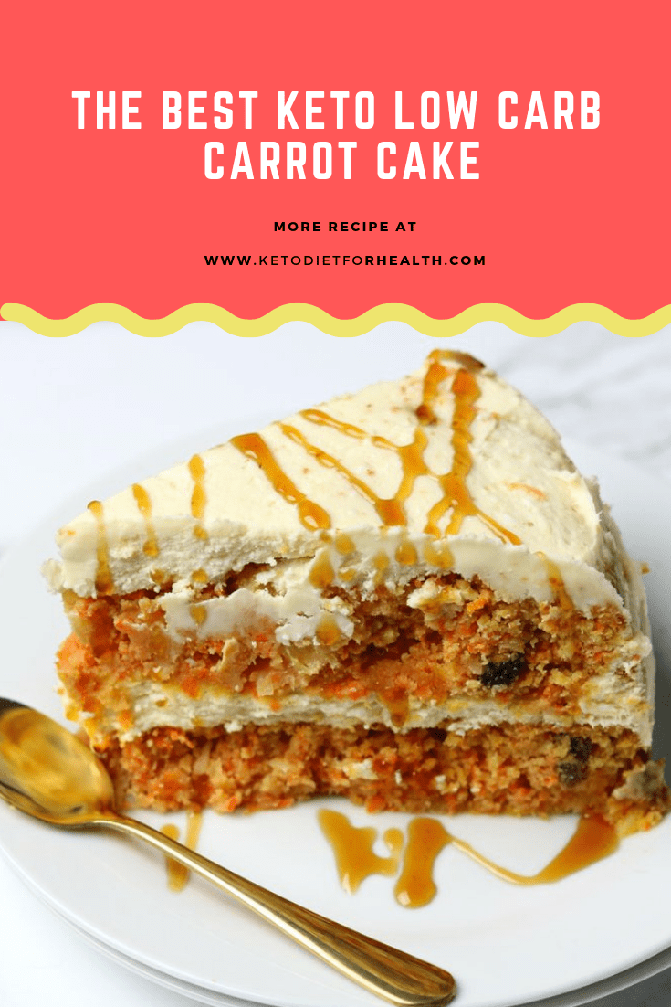 The BEST Keto Low Carb Carrot Cake