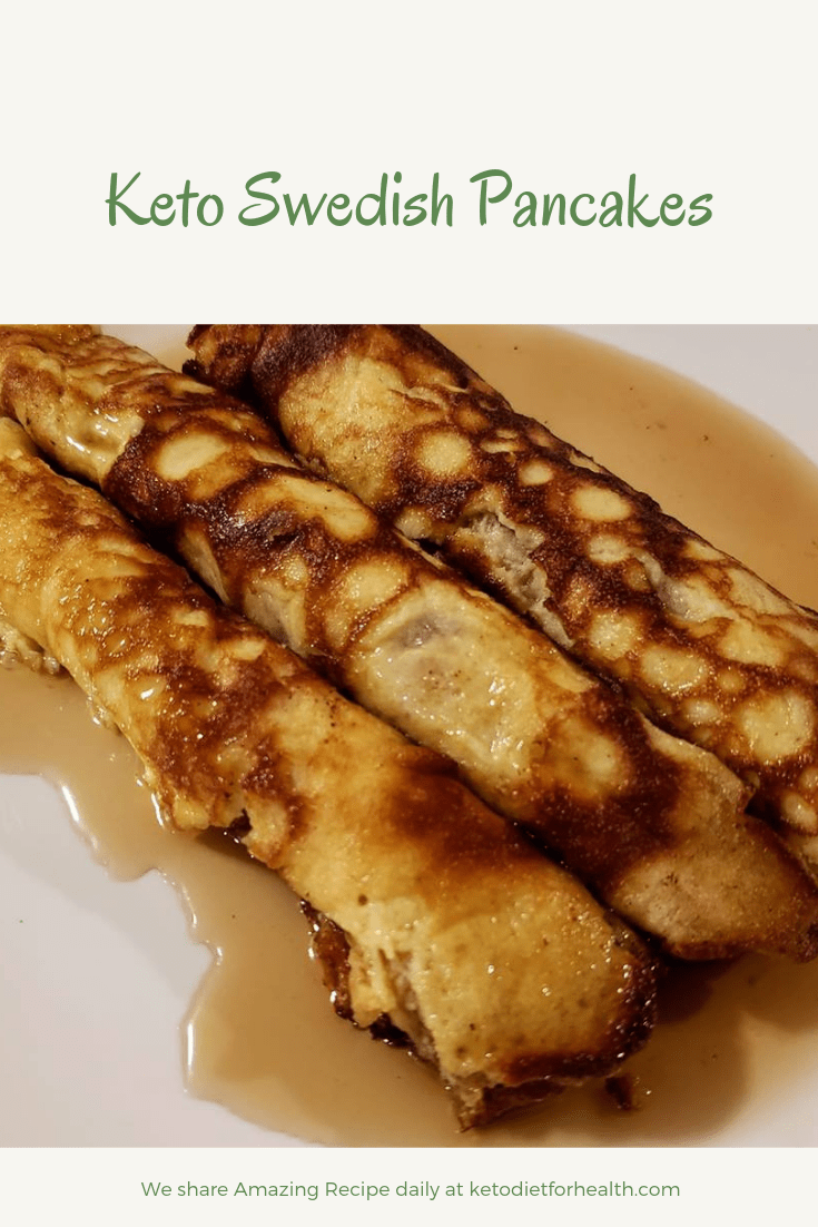 Keto Swedish Pancakes