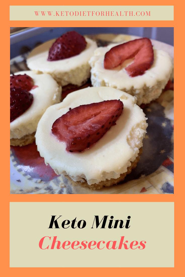 Keto Mini Cheesecakes