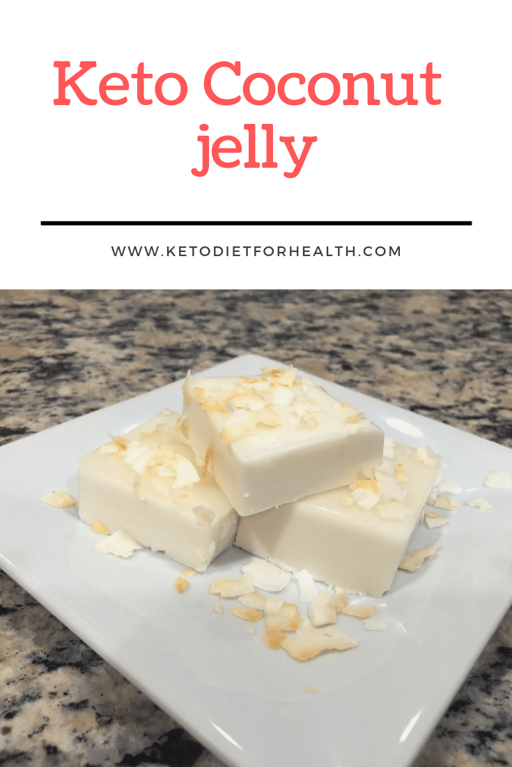 Keto Coconut jelly