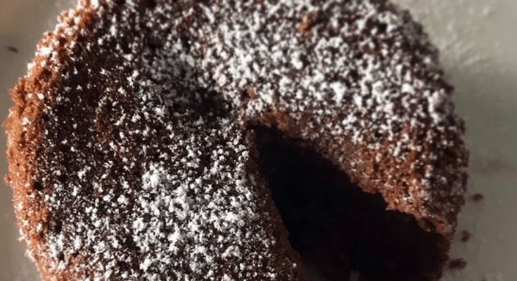 Easy Keto Lava Cake-Singe Serve
