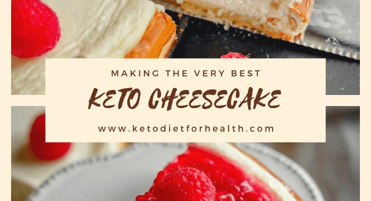 KETO CHEESECAKE | THE BEST RECIPE FOR KETO