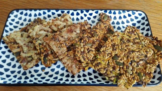 Courgette zaden- en pittencrackers