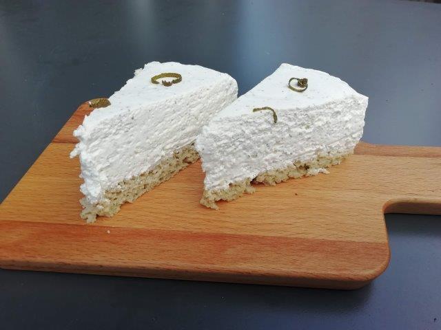 Limoen-cheesecake