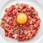 Steak Tartare with Quail Egg