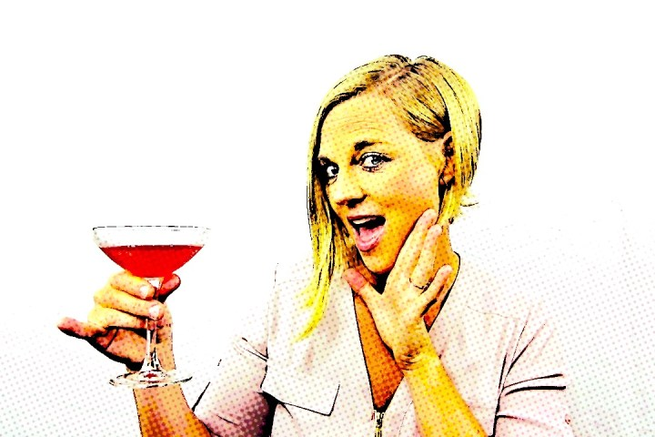Martini drinking