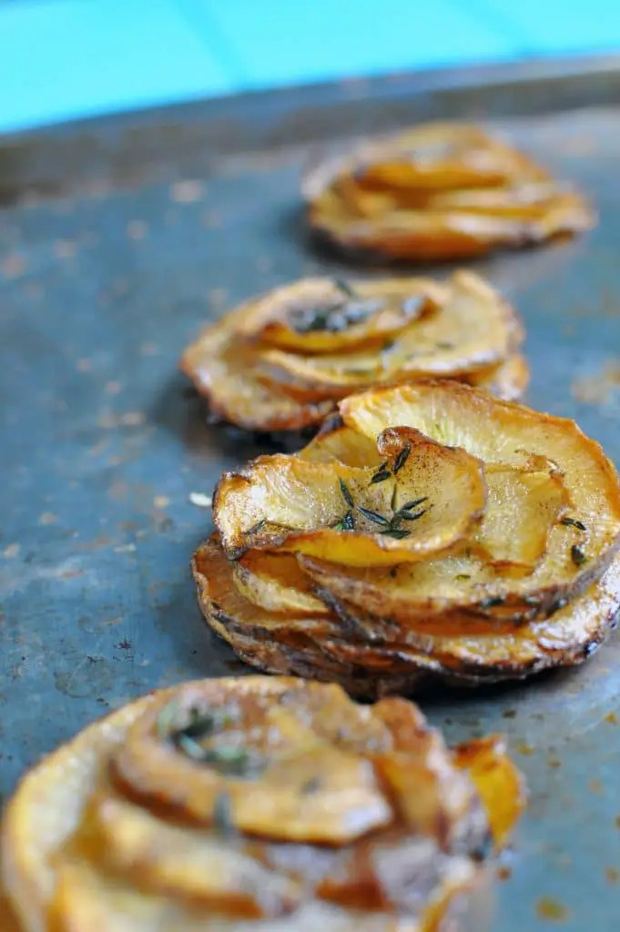Pommes Anna | Rutabaga Recipes | Low Carb Vegetables | Keto Recipes | Potato Substitute