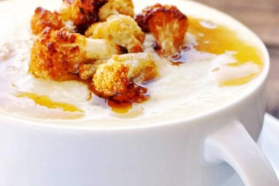 Cream Parmesan Cauliflower Soup   KETOGASM RECIPE #keto #lowcarb #paleo #whole30 #cauliflower #brownedbutter #soup #recipes #vegetarian keto recipes