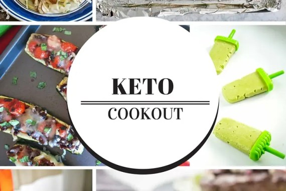 Have a Keto Cookout! Low Carb Summer Recipes