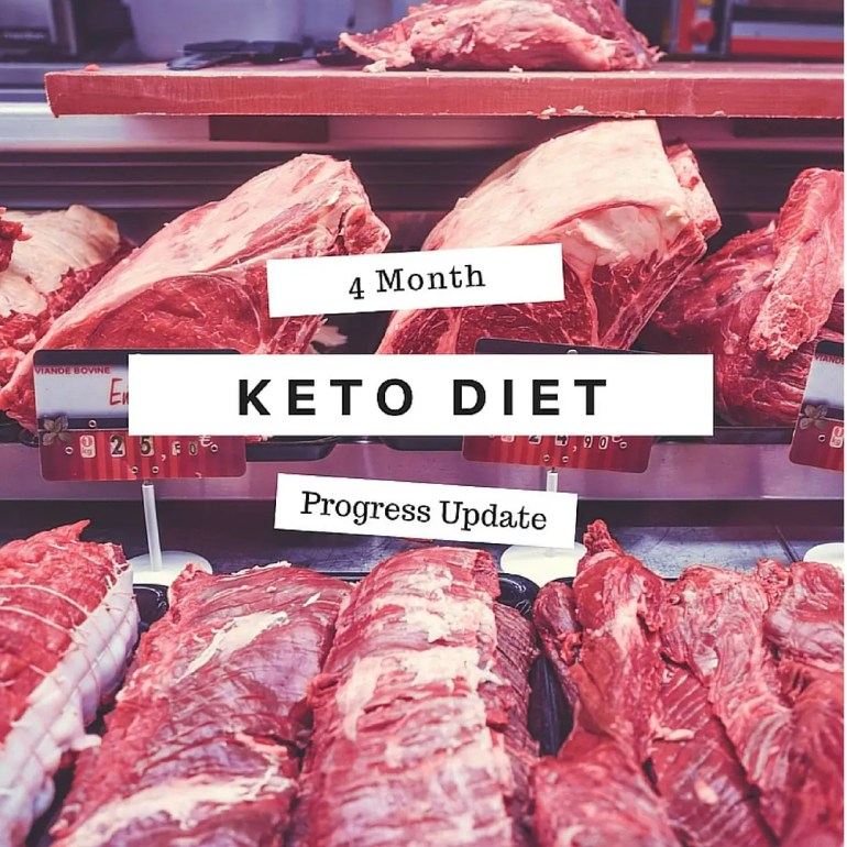 Keto Diet Progress Update - 4 Months In!