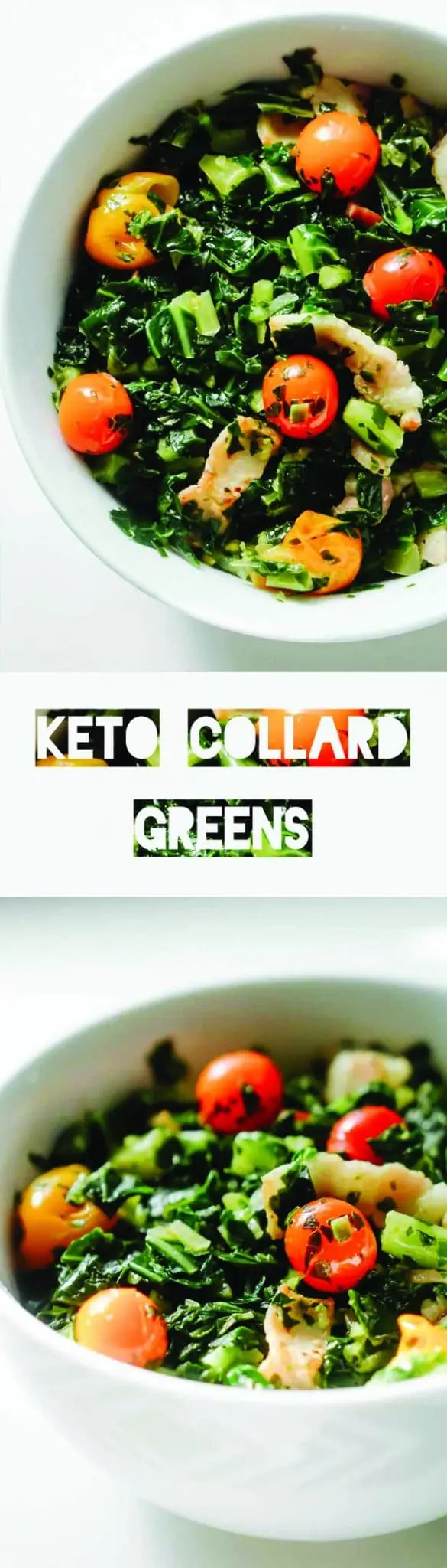 Keto Collard Greens Recipe | Keto Recipes | Low Carb Vegetables | Atkins | LCHF