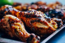 Spicy Keto Chicken Drumsticks [Recipe]