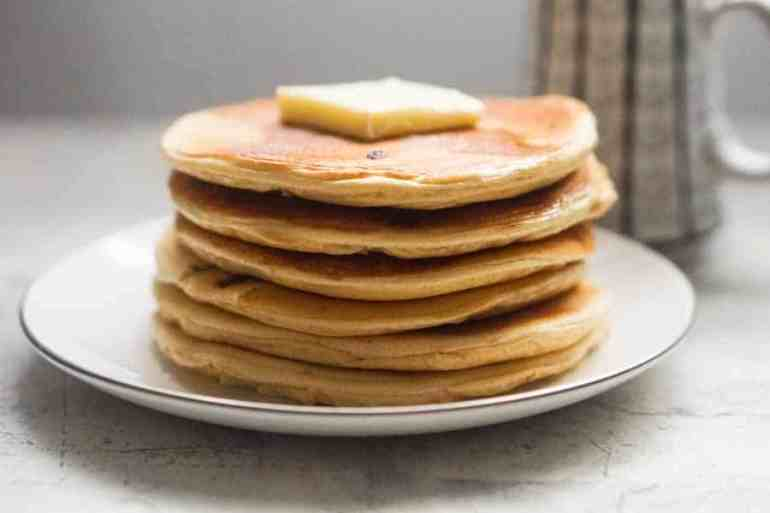 Low Carb Protein Pancakes - Peanut Butter & Chocolate Chip [Recipe]