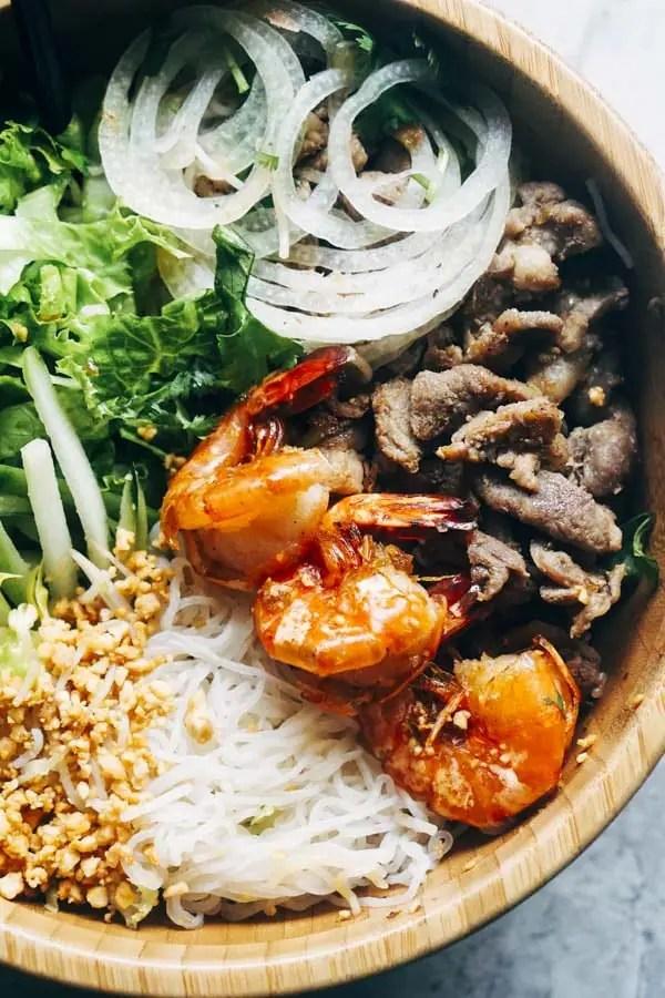 Vietnamese Noodle Salad Bowl | Low Carb & Keto