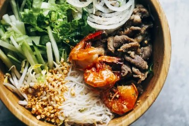 Low Carb Vietnamese Noodle Bowl Salad