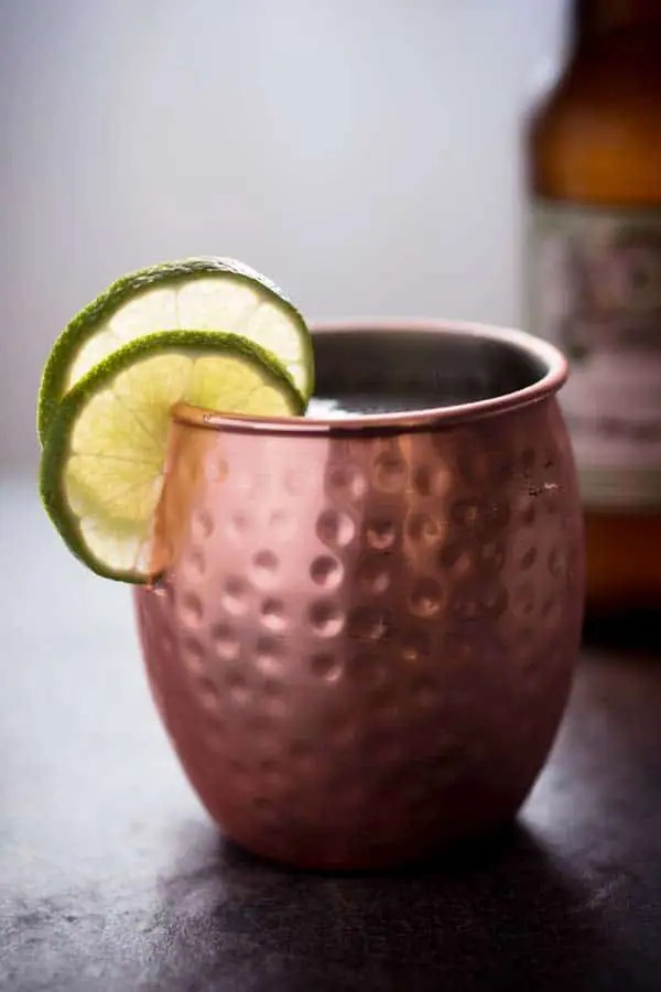 Low Carb Moscow Mule Recipe - Keto Cocktails