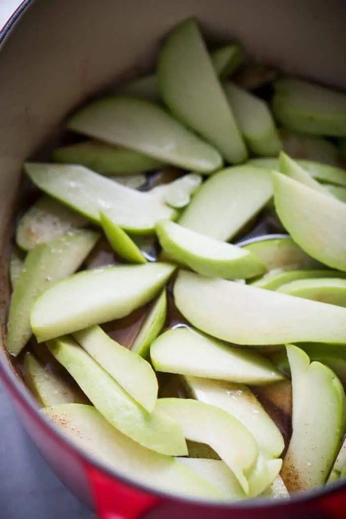Apples on Keto? Use chayote as low carb apple replacement!