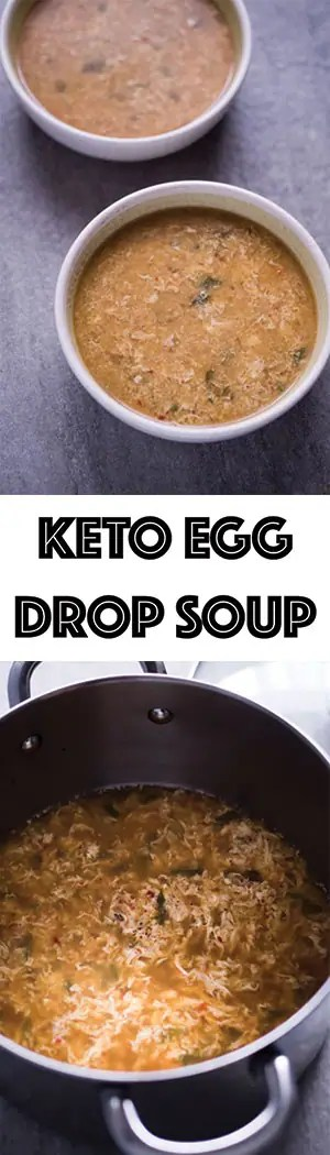Keto Egg Drop Soup Recipe - Low Carb, Gluten Free, No Starch Needed!