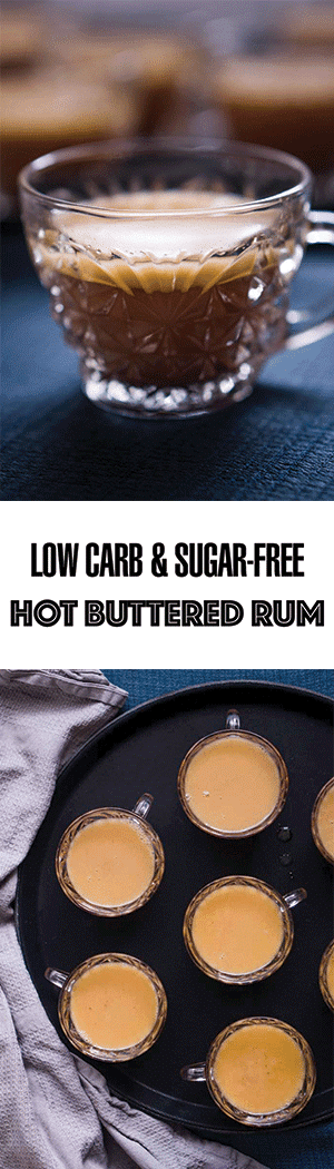Hot Buttered Rum Cocktail Recipe - Low Carb, Keto, Sugar-Free