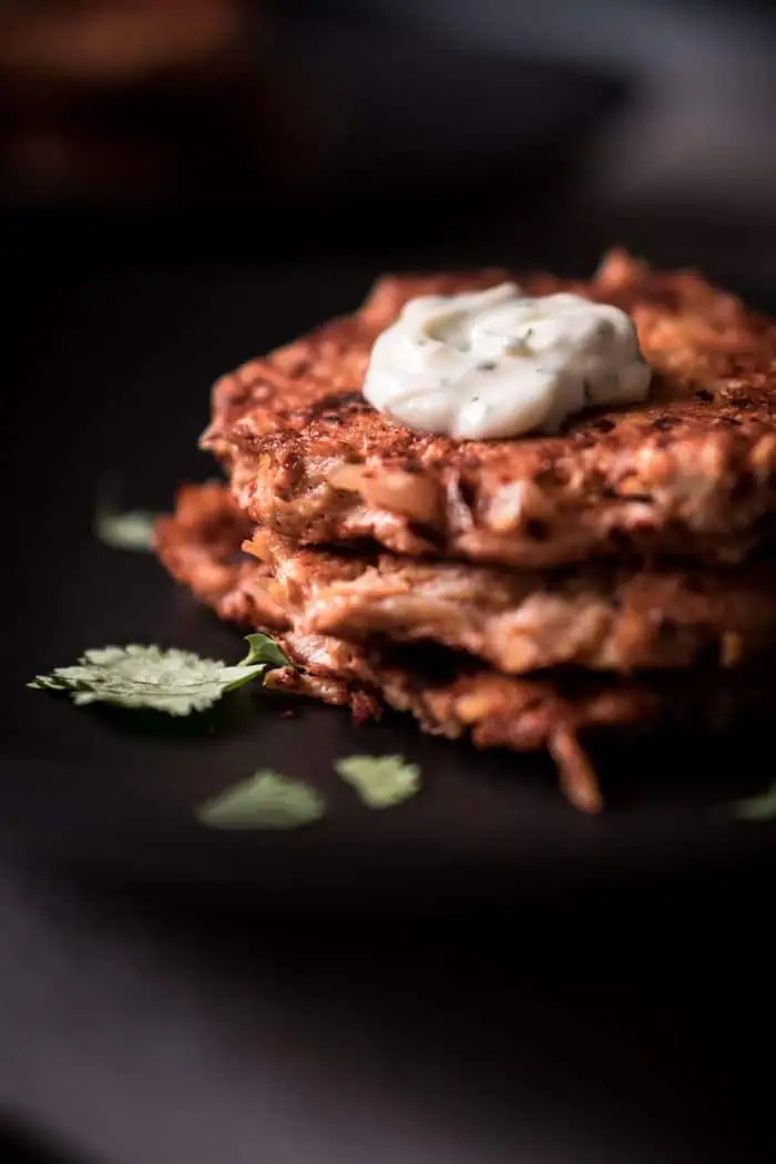 Easy Low Carb Chicken Fritters - Keto Friendly, Gluten Free, Dairy Free