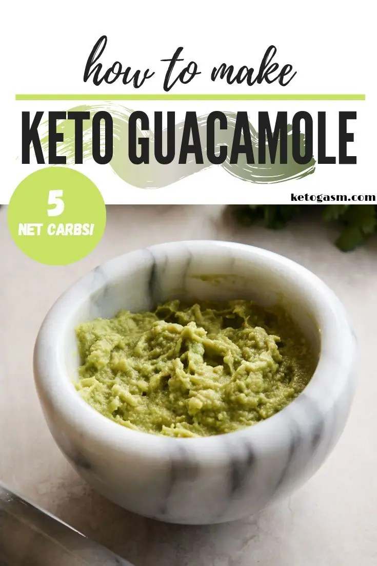 How to make keto guacamole
