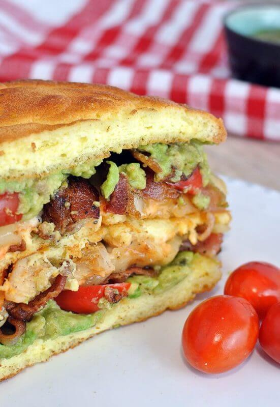 quick keto sandwich