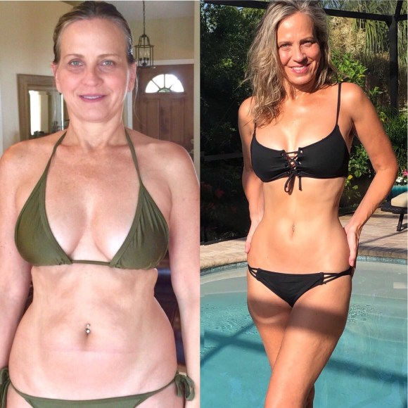 Lisa Alex Gray carnivore diet before and after age 54
