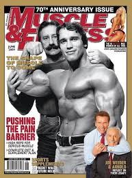 Joe Weider and Arnold building muscle on keto