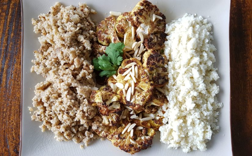 Cauliflower rice recipe