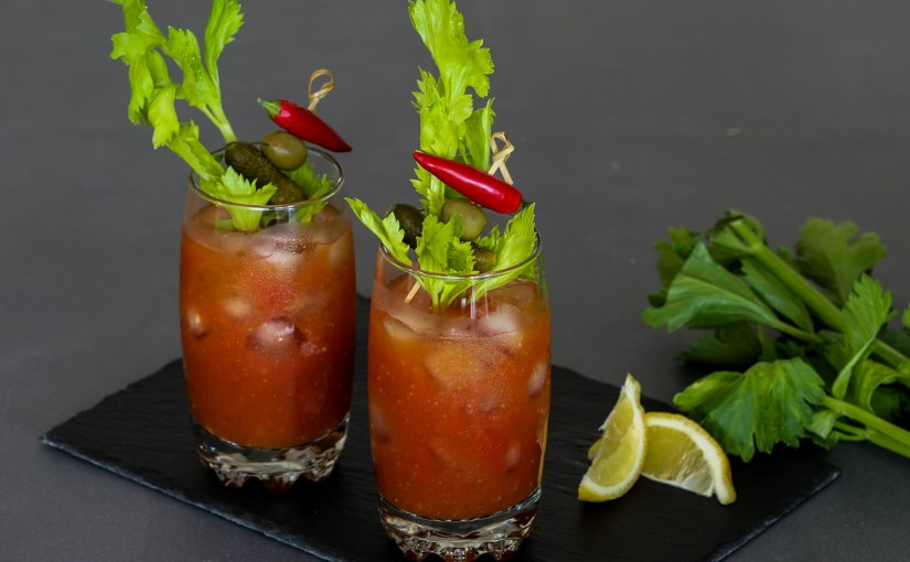 Low Carb Bloody Mary Cocktail