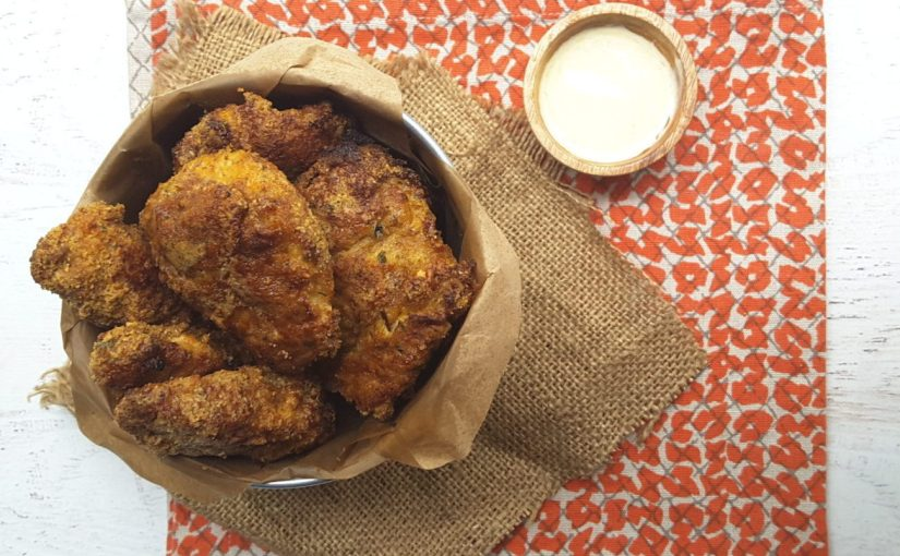 Low Carb Oven Fried Chicken