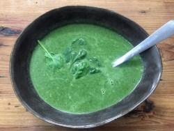 Keto Spinazie soep