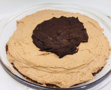 Keto chocolade cheesecake