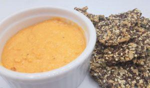 Pesto van paprika en cashewnoten