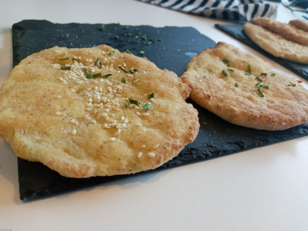 keto naan brood