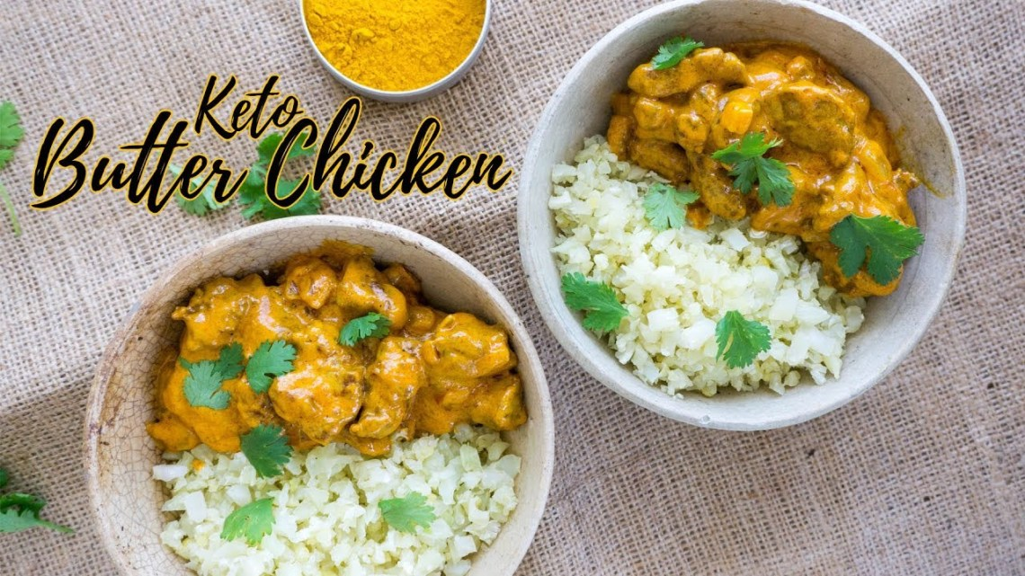 Keto Butter Chicken   Low Carb Indian Recipe - The Keto ...