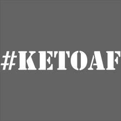 #KETOAF Stencil