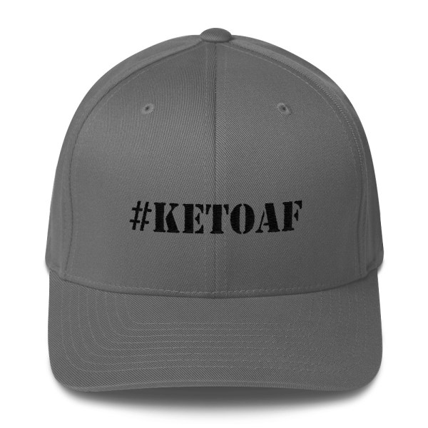 Stencil #KETOAF - Embroidered Structured Twill Cap 1