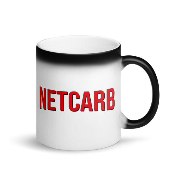 NetCarb - Matte Black Magic Mug 1