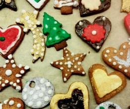 Στα gingerbread cookies