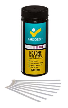 Care Check Ketone Test Strips on Amazon
