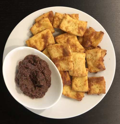 Low Carb Keto Crackers