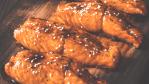 low carb grilled salmon teriyaki
