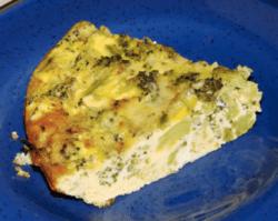 Keto Broccoli & Zucchini Quiche